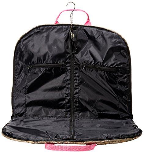 Perri's Leather Premium Garment Bag, Green Realtree