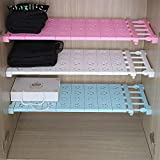 Wall of Dragon Nail Stretching Wardrobe Layered Separated Compartment Shelves Bathroom organising Shelf Storage Rack Dormitory