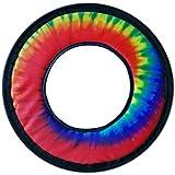 "Tie Dye Fabric Soft Frisbee Flying Ring 10"""