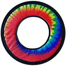 """Free Style Fabric Soft Flying Ring 10"""" (Tie Dye)"""