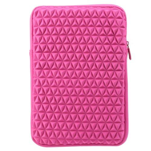 Evecase Super Soft Cushion Vertical Neoprene Sleeve Case Zip