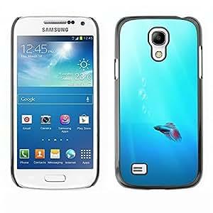 YOYO Slim PC / Aluminium Case Cover Armor Shell Portection //Cute Neon Coral Fish //Samsung Galaxy S4 Mini