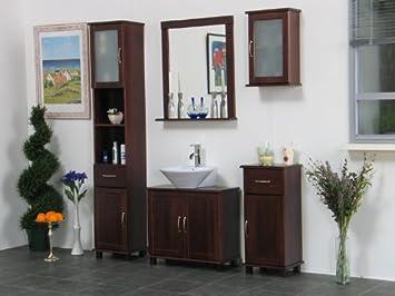 Badezimmer Kolonialstil 5tlg massives badezimmer torino badmöbel kolonial neu amazon de
