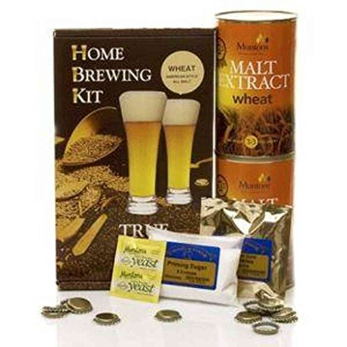 True Brew 5384852547 American Wheat Home Brew Beer Ingredient Kit