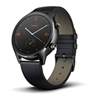 Mobvoi TicWatch C2, Wear OS by Google Classic smartwatch, IP68 Sweat and Waterproof, Google Pay, Compatible with iPhone and Android