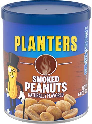Nuts & Seeds: Planters Smoked Peanuts