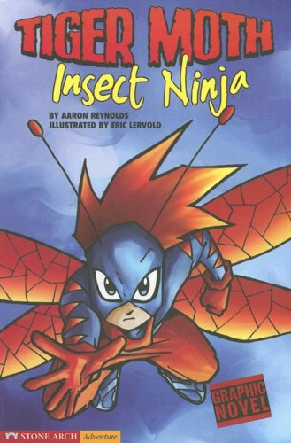 Read Online Insect Ninja: Tiger Moth (Graphic Sparks) pdf epub