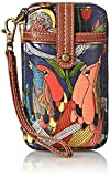Sakroots Artist Circle Smartphone Wristlet, River Peace, One Size