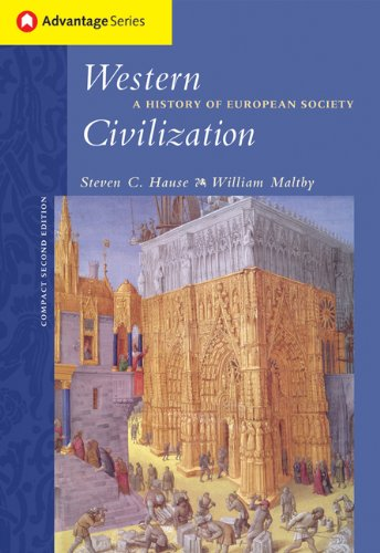 Cengage Advantage Books: Western Civilization: A History of European Society, Compact Edition (Advantage Series)