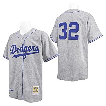 Brooklyn Dodgers Authentic 1955 Sandy Koufax Road Jersey by Mitchell    Ness  Amazon.co.uk  Sports   Outdoors c0b8eb3686f