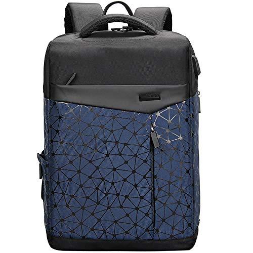 Aoking College 15.6 Laptop USB Backpack Antitheft Waterproof Office Slim Cool Backpack for Men
