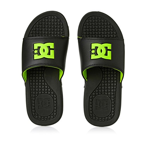 DC Shoes Bolsa M Herren Zehentrenner Black/Lime