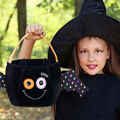 Halloween Pumpkin Personalized Basket Large Kid's Trick Treat