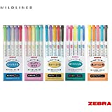 Zebra Mildliner – Full 25 colore set (includes New wkt7-n-5 C & WKT7 – 5 C-hc set)
