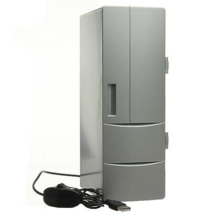 LXJ-LD Refrigerador USB y Calentador, PC portátil Refrigerador ...