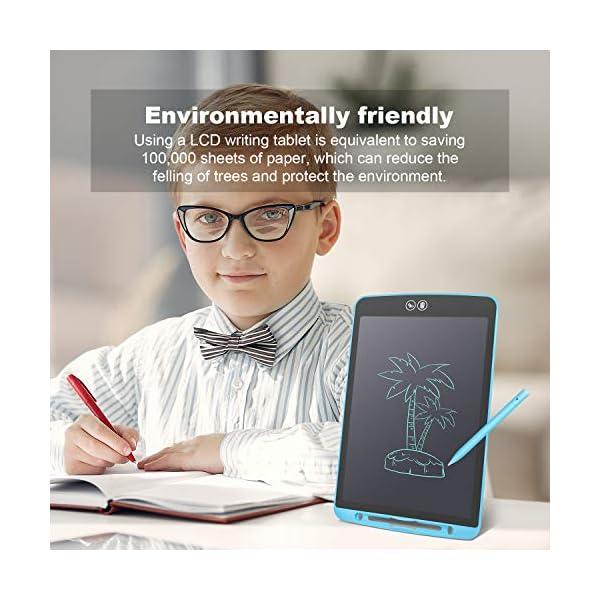 Tavoletta Grafica LCD Scrittura, Tavoletta Senza Carta, Tavoletta Grafica Portatile per Scuola, Casa e Ufficio, Blu 8,5… 4 spesavip