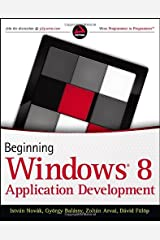 Beginning Windows 8 Application Development Paperback