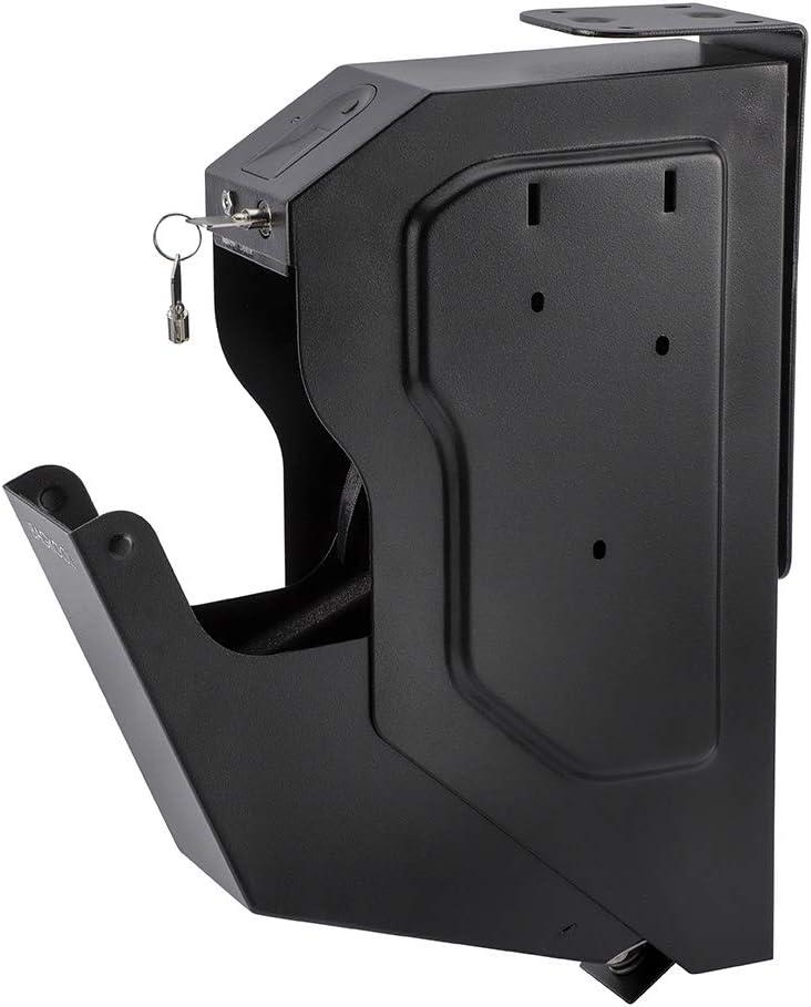 BAGKOOL Gun Safe,Handgun Safe Box Mounted Firearm Safety Device Pistol Gun Safe Box 51bw-RiMhkL