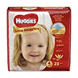 Health & Personal Care : Huggies Little Snugglers Diapers - Size 4 - 23 ct