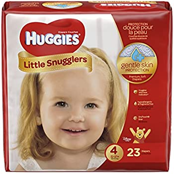Huggies Little Snugglers Diapers - Size 4 - 23 ct