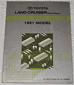 1991 toyota land cruiser electrical wiring diagram (fj80 series, station  wagon): toyota motor corporation: amazon com: books