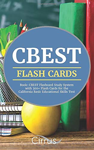 CBEST Flash Cards Book Educational product image