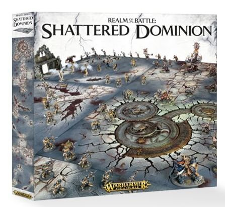 Warhammer Age of Sigmar Realm of Battle: Shattered Dominion by Citadel