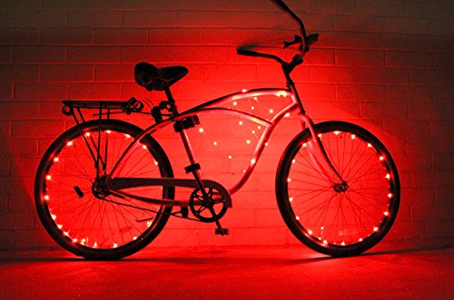 Bike Wheel / Lights (2 PACK)- Colorful Light Accessory For Bike -...