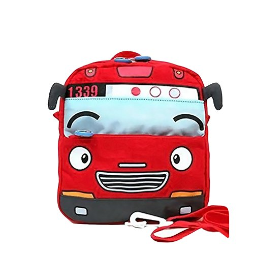 Google Maps Costume Diy (Meanhoo Cool Car Cartoon Kindergarten Backpack for Kids Boys ,Nylon Car School Bag Children Bag for 3 years old(Red))