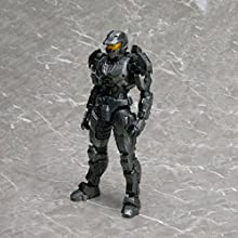 Halo Reach Play Arts New York Comic Con 2011 Exclusive Action Figure Spartan Mark V Silver