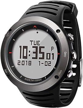 MSQL Reloj Digital Deportivo para Hombre, altímetro barométrico ...