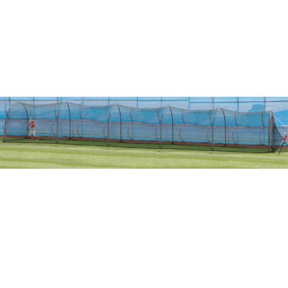 amazon com heater sports xtender 60 u0027 home batting cage sports