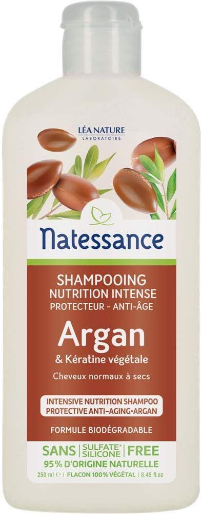 Natessance Shampooing Anti Age Argan/Kératine Végétale 250 ml ...