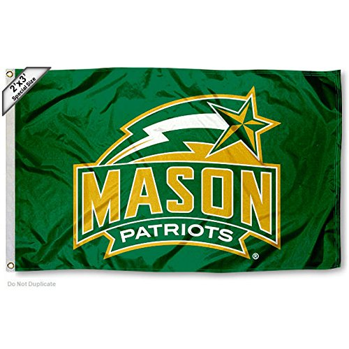 George Mason Patriots 2x3 Foot Flag
