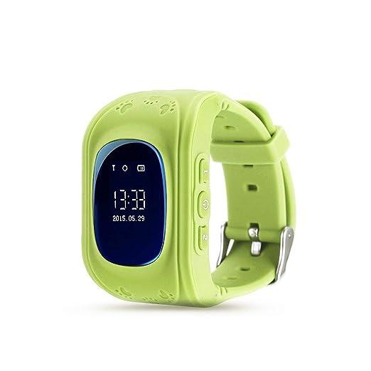 LARDOO Reloj Inteligente Q50 Relojes para niños con Tarjeta ...