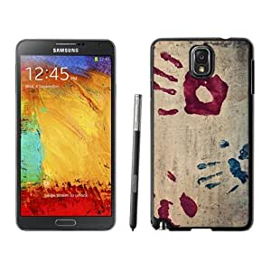 Beautiful Unique Designed Samsung Galaxy Note 3 N900A N900V N900P N900T Phone Case With Handprints_Black Phone Case