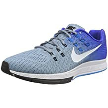 Nike Air Zoom Structure 19 Running Shoes - Mens - Blue Grey/White/Racer Blue -