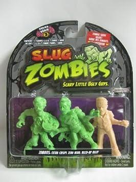 S.L.U.G (Slug) Zombies 3 Pack Series 3 Extra Crispy, Zero ...