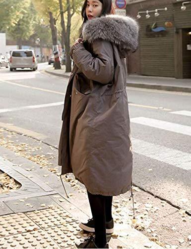 invernale pelliccia Cappuccio di e con caldo wHxEqPxSR