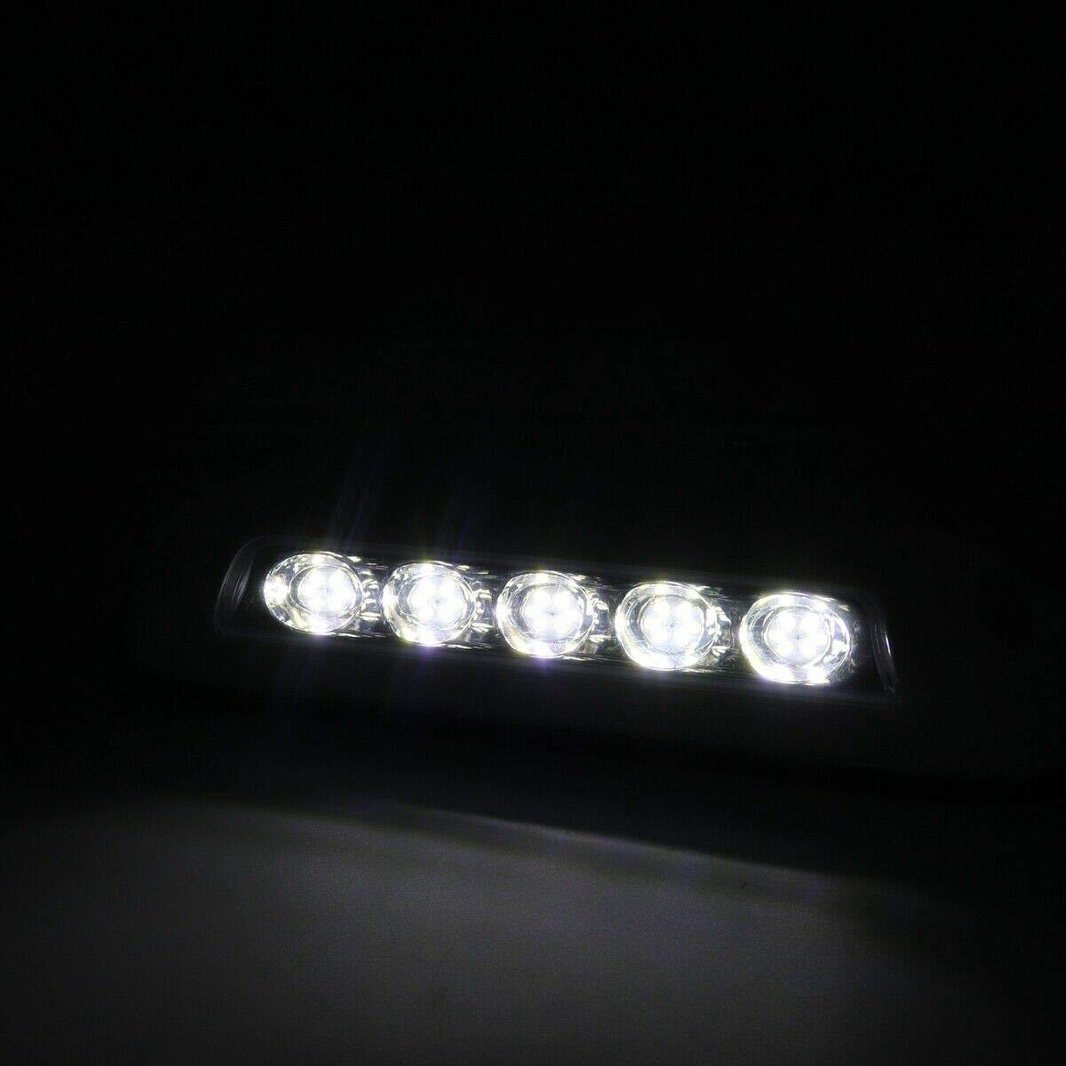 Moligh doll Projecteurs LED De Bateau RV De Voiture De 12V Lampe Dome 5 Eclairage Plafonnier De 2,6 W 5 Ampoule