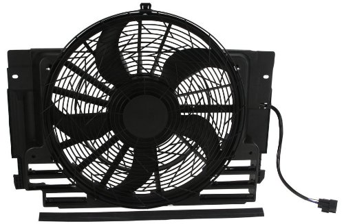 Behr Hella Service W0133-1665401-BEH Auxiliary Fan Assembly Bmw Auxiliary Fan Assembly