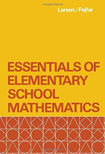 Essentials of Elementary School Mathematics pdf epub