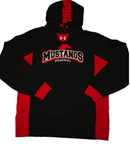 b942cbf30 Amazon.com: Under Armour Men's SMU Mustangs Hoodie Coldgear, Large ...