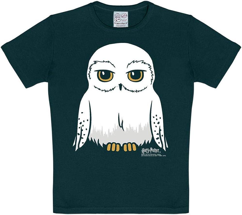 Logoshirt - Harry Potter - Lechuza - Hedwig - Camiseta - Negro ...