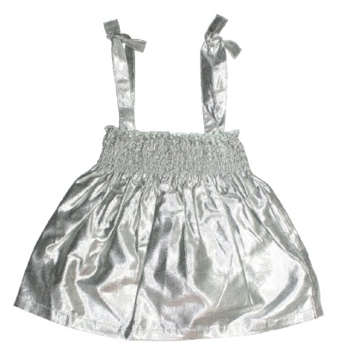 egg by suzan lazar Baby Girls' Metallic Smocked Top