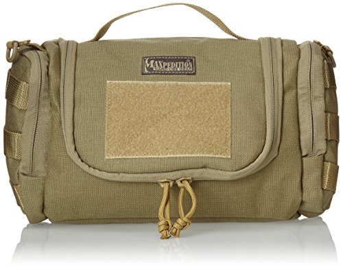 Maxpedition Gear Aftermath Compact Toiletries Bag, Khaki by Maxpedition (Image #4)