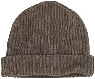 Williams Cashmere Men's 100% Cashmere Solid Knit Hat, Heather Brown, One Size (B0085J3MLW) | Amazon price tracker / tracking, Amazon price history charts, Amazon price watches, Amazon price drop alerts