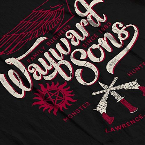 Supernatural Wayward Sons Womens Vest Black