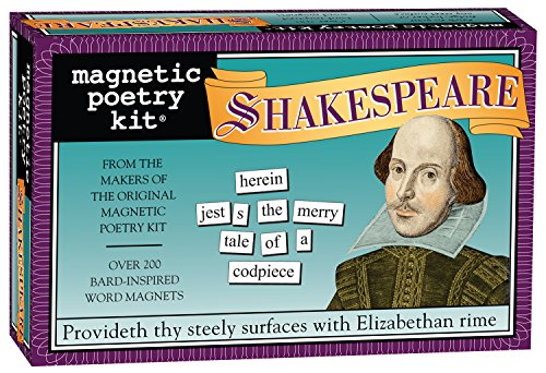Magnetic Poetry - Shakespeare Kit - Words for Refrigerator, used for sale  Delivered anywhere in USA