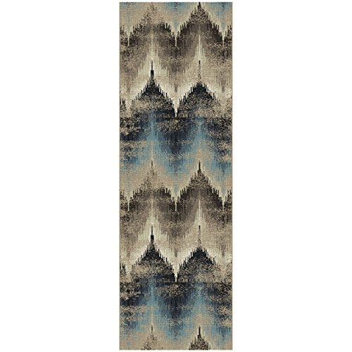Blue Nile Mills 2.6' x 8' Cadwell Collection Area Rug ()